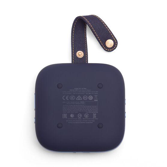Harman Kardon Neo - Midnight Blue - Portable Bluetooth speaker - Back
