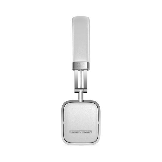 Soho Wireless - White - Premium, on-ear headset with simplified Bluetooth® connectivity. - Detailshot 2