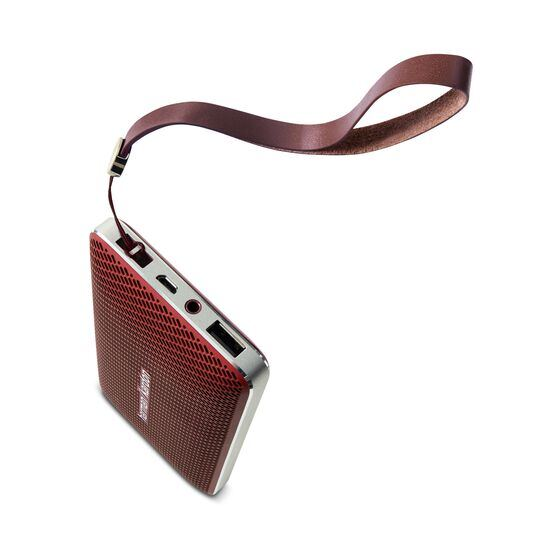 Esquire Mini - Red - Wireless, portable speaker and conferencing system - Detailshot 3