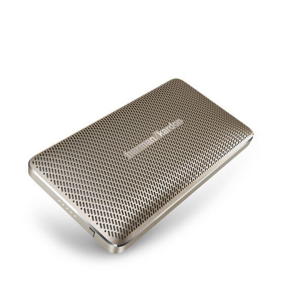 Esquire Mini - Gold - Wireless, portable speaker and conferencing system - Hero