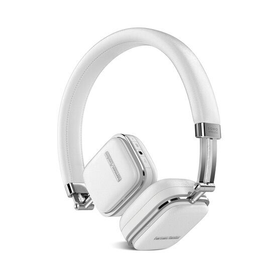 Soho Wireless - White - Premium, on-ear headset with simplified Bluetooth® connectivity. - Hero