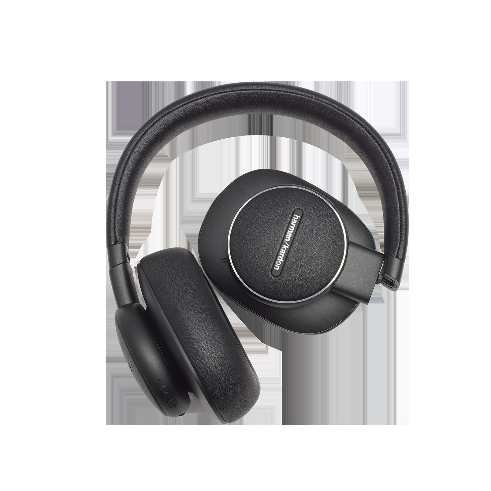 Harman Kardon FLY ANC - Black - Wireless Over-Ear NC Headphones - Detailshot 4