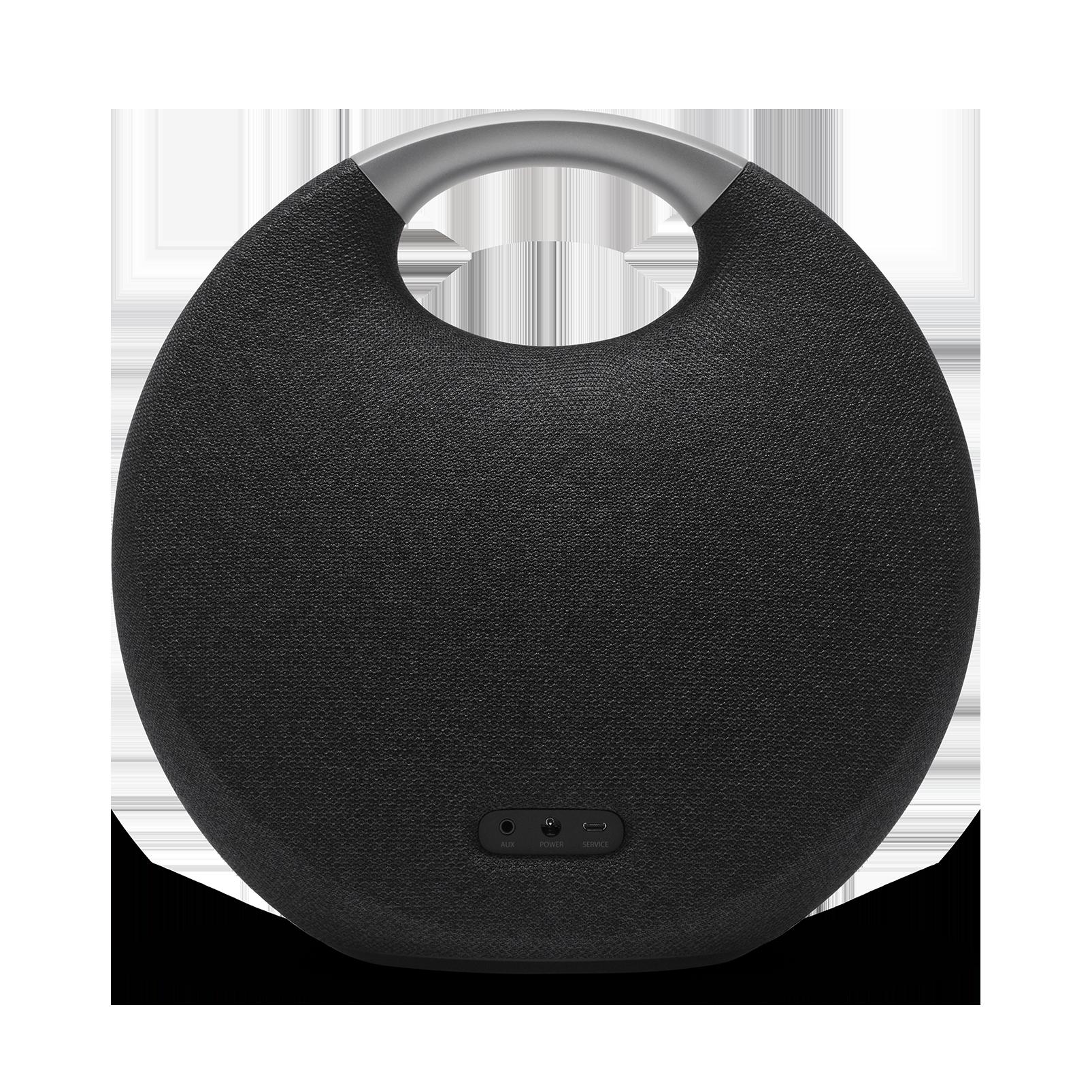 Onyx Studio 5 - Black - Portable Bluetooth Speaker - Back